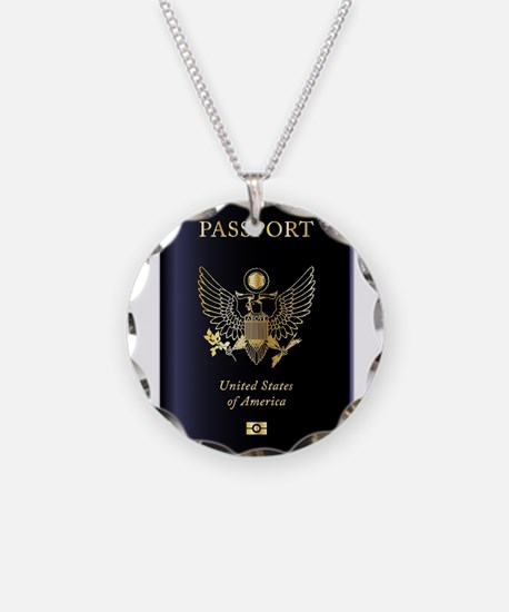 United States of America Pas Necklace