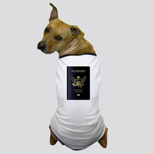 United States of America Passport Dog T-Shirt