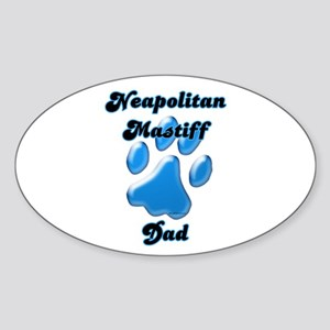 Neo Dad3 Oval Sticker