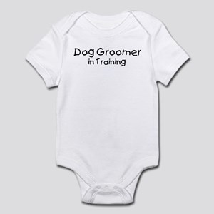 Dog Groomer in Training Infant Bodysuit