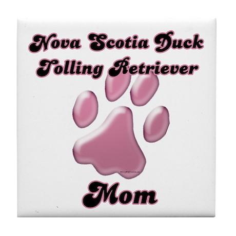 Toller Mom3 Tile Coaster