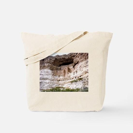 MONTEZUMA CASTLE, ARIZONA Tote Bag