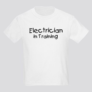 Electrician in Training Kids Light T-Shirt
