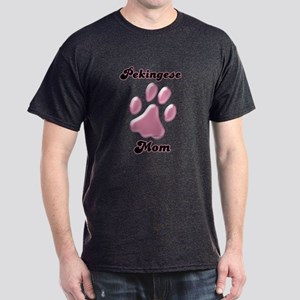Pekingese Mom3 Dark T-Shirt