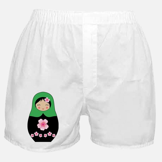 Cool Russia doll Boxer Shorts
