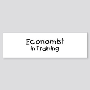 Economist in Training Bumper Sticker