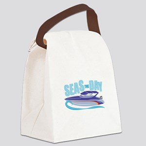 Seas The Day Canvas Lunch Bag