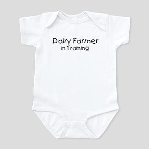 Dairy Farmer in Training Infant Bodysuit