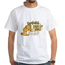 Java Joint Garfield White T-Shirt