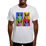 Blue Heeler Ash Grey T-Shirt