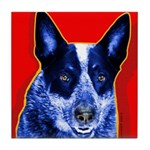 Blue Heeler Tile Coaster