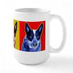 Blue Heeler Large Mug