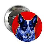 Blue Heeler Button