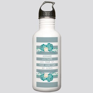 Cute Modern Spring Flo Stainless Water Bottle 1.0L