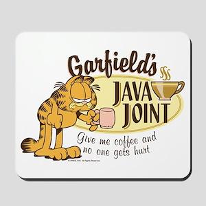 Java Joint Garfield Mousepad