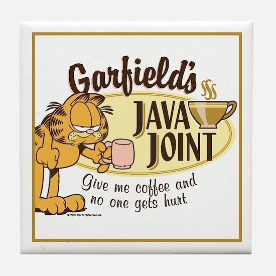 Java Joint Garfield Tile Coaster