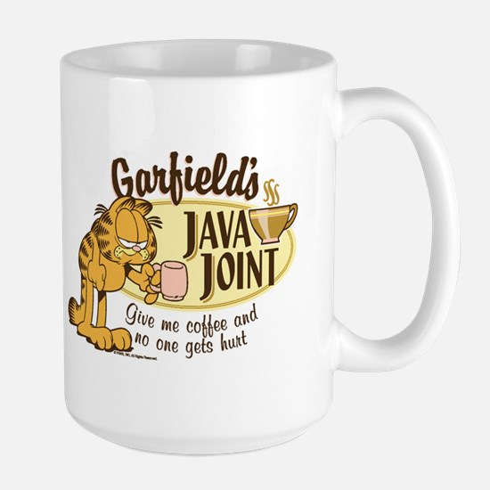 Java Joint Garfield Large Mug