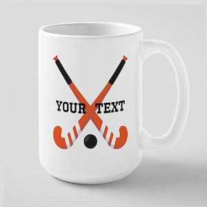 Personalized Field Hockey Mugs