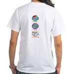 Holiday Dolphin White T-Shirt