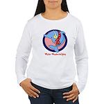 Holiday Dolphin Women's Long Sleeve T-Shirt
