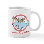Holiday Dolphin Mug