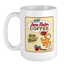 Java-Nator Garfield Large Mug Mugs