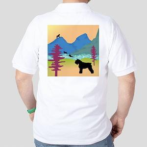 Wild Bouviers Golf Shirt