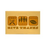 Give Thanks Rectangle Magnet (100 pack)