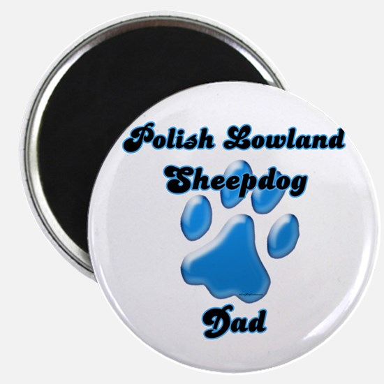Lowland Dad3 Magnet