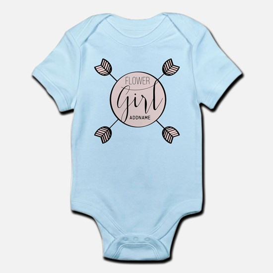 Flower Girl Personalized Infant Bodysuit