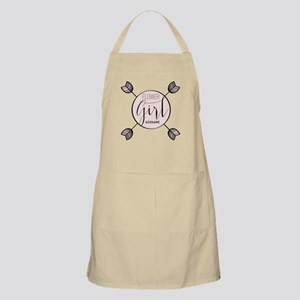 Flower Girl Personalized Apron