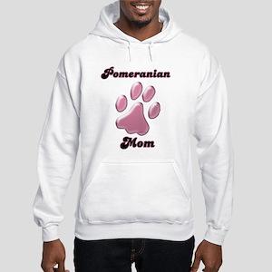 Pomeranian Mom3 Hooded Sweatshirt