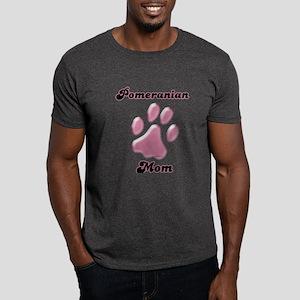 Pomeranian Mom3 Dark T-Shirt