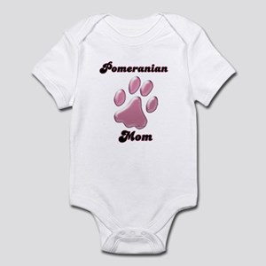 Pomeranian Mom3 Infant Bodysuit