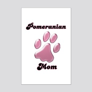 Pomeranian Mom3 Mini Poster Print