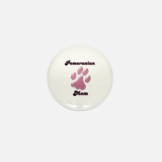 Pomeranian Mom3 Mini Button