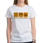 Give Thanks Women's T-Shirt