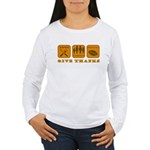 Give Thanks Women's Long Sleeve T-Shirt
