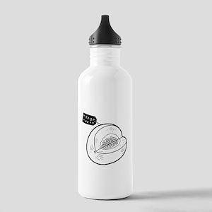 Melon Label Water Bottle