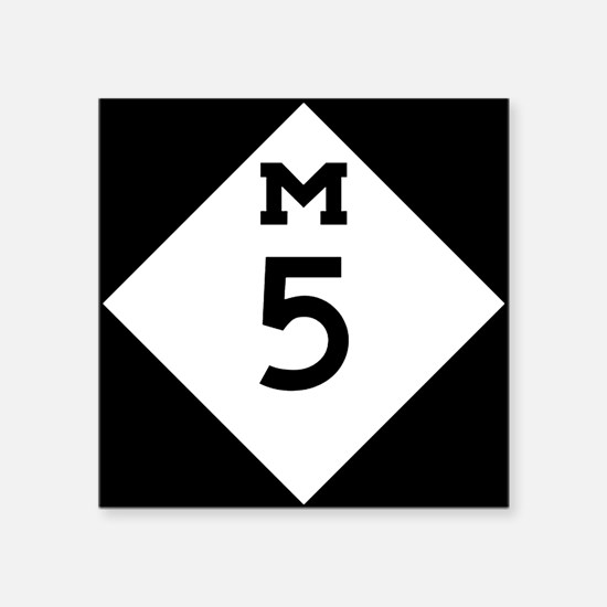 Michigan M5 Sticker