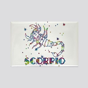 SCORPIO Skies Rectangle Magnet
