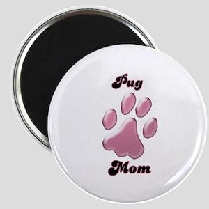 Pug Mom3 Magnet
