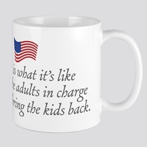 Let's bring the kids back. Mugs