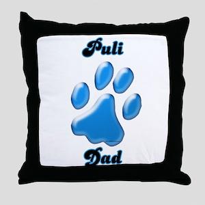 Puli Dad3 Throw Pillow