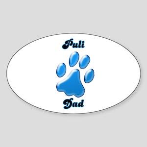 Puli Dad3 Oval Sticker