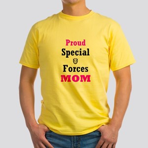 Special Forces Mom Yellow T-Shirt