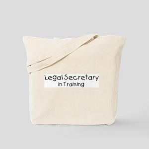 Legal Secretary in Training Tote Bag