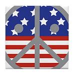 Unhappy Peace Tile Coaster