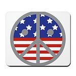 Unhappy Peace Mousepad