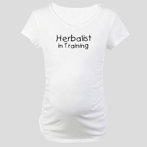 Herbalist in Training Maternity T-Shirt